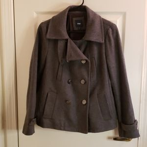 Gap Gray Peacoat Size Small